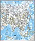 Asia Carta Murale Politica