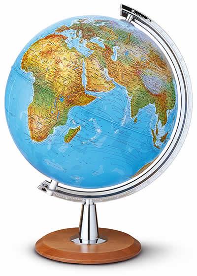 cartografia fisica: