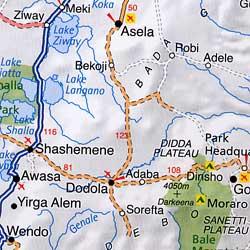 immagine di atlante geografico atlante geografico African Adventure Atlas / Atlante Geografico e Stradale dell'Africa