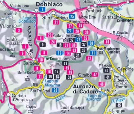 immagine di guida turistica guida turistica n.994 - Guida Escursionistica per Alta Pusteria (Dolomiti)