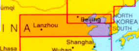immagine di mappa stradale mappa stradale N.2 Cina/China - Nord