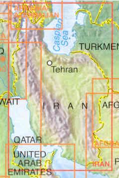 immagine di mappa stradale mappa stradale Iran