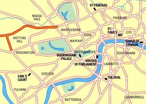 Zone Di Londra Cartina.Mappa Di Citta N 34 London Londra