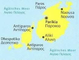 immagine di mappa topografica mappa topografica n.251 - Paros, Antiparos, Dhespotiko, Strogilo (isole della Grecia) - mappa escursionistica, con spiagge, percorsi per il trekking, luoghi panoramici e parchi naturali - compatibile con GPS - nuova edizione