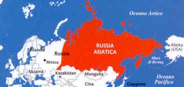 Cartina Russia Asiatica.Guida Turistica Russia Asiatica