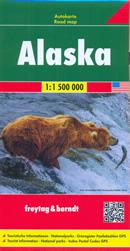 mappa Alaska con Anchorage, Dillingham, Nome, Kotzebue, Fairbanks, College, Juneau, Kodiak, Ketchikan, Sitka, Palmer, Bethel, Barrow, Kenai, Attu Island, Rat Islands, Andreanof Shumagin Islands 2018