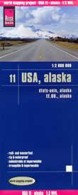 mappa Alaska impermeabile antistrappo