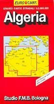 mappa Algeria