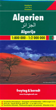 mappa Algeria con Algeri, Orano, Costantina, Annaba, Batna, Blida, Sétif, Chlef, Djelfa, Sidi bel Abbès