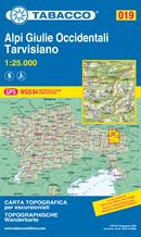 mappa Alpi Giulie Occidentali