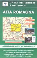 mappa n.29 Alta Romagna Portico di Romagna, Cascata dell'Acquacheta, Passo del Muraglione, Galeata, Premilcuore, Rocca San Casciano, Benedetto in Alpe, S. Sofia
