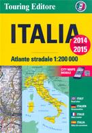 atlante Altante Stradale d'Italia con piante di città 2014 2015