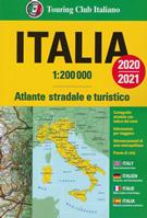 atlante Altante Stradale d'Italia con piante di città 2020