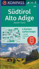 mappa Alto Adige dtirol