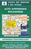 mappa Alto Appennino Bolognese