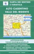 mappa n.33 Alto Casentino, Valli del Bidente con Monte Falterona, Campigna, Parco Nazionale Foreste Casentinesi, Corniolo, Camaldoli, Passo la Calla, Bagno di Romagna, Stia, Pratovecchio, Lago Ridracoli