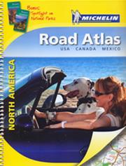 atlante America Stati Uniti d'America (USA), Canada, Messico atlante stradale a spirale aggionata + informazioni sui parchi nazionali e piante di città