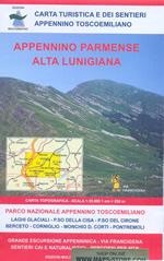mappa n.13 Appennino Parmense e Alta Lunigiana con Passo Cisa del Cirone, Berceto, Corniglio, Monchio Corti, Pontremoli