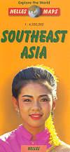 mappa stradale Asia Sud-Est / Asia SudEst