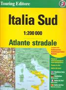 atlante Atlante Stradale Italia Campania, Puglia, Basilicata, Calabria, Sicilia 2017