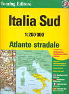 atlante Atlante Stradale Italia Campania, Puglia, Basilicata, Calabria, Sicilia