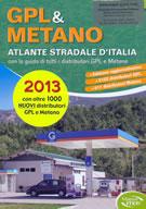 atlante Atlante Stradale d'Italia con distributori GPL e Metano