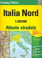 atlante stradale Atlante Stradale Italia Nord - con Liguria, Piemonte, Valle d' Aosta, Lombardia, Veneto, Trentino-Alto Adige, Friuli-Venezia Giulia, Emilia-Romagna