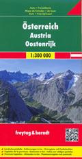 mappa stradale Austria / Österreich - con Vienna, St. Pölten, Linz/Lienz, Salisburgo (Salzburg), Innsbruck, Bregenz, Klagenfurt, Graz, Eisenstadt, Wels, Villaco (Villach) - edizione 2014