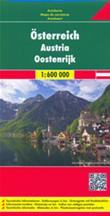 mappa Austria / Österreich con Vienna, St. Pölten, Linz/Lienz, Salisburgo (Salzburg), Innsbruck, Bregenz, Klagenfurt, Graz, Eisenstadt, Wels, Villaco (Villach) 2014