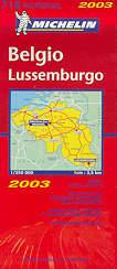 mappa stradale 716 - Belgio, Lussemburgo