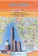 mappa Bologna di città con Casalecchio Reno, Borgo Panigale, Corticella, Arcoveggio, S.Donato, S.Stefano 2018