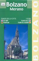 mappa di città Bolzano e Merano - mappa di città - nuova edizione