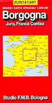 mappa Borgogna, Jura, Franca Contea