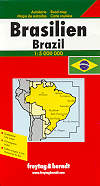 mappa Brasile Brazil Brasilien Brasil Bresil 2017