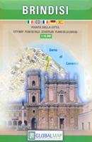 mappa Brindisi di città 2018