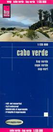 mappa Capo Verde con Santo Antão, São Vicente, Nicolau, Ilha do Sal, Boa Vista, Maio, Santiago, Fogo impermeabile e antistrappo