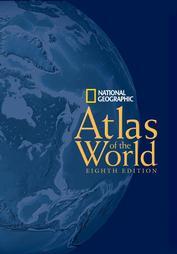 Atlante del Mondo - Atlas of the World (8 edition)