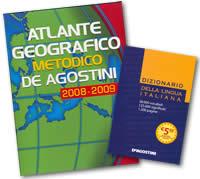 Atlante Geografico Metodico 2008-2009 + Dizionario della Lingua Italiana