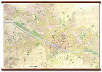 Firenze - Carta Murale plastificata con Aste