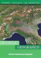 Atlante Tascabile Geografico del Mondo - cartografia aggiornata, con fusi orari, tavole con dati statistici e bandiere - nuova edizione