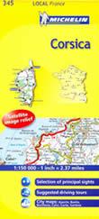 mappa stradale n.345 - Corsica - nuova edizione