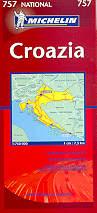 mappa stradale 757 - Croazia