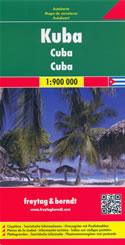 mappa Cuba con Pinar del Río, Artemisa, Avana/La Habana, Mayabeque, Matanzas, Cienfuegos, Villa Clara, Sancti Spíritus, Ciego de Ávila, Camagüey, Las Tunas, Granma, Holguín, Guantánamo, Varadero, Isla la Juventud, Jamaica, Isole Cayman 2015