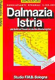 atlante stradale Dalmazia, Istria - dal Golfo di Trieste al Litorale Montenegrino - edizione 2013
