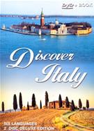 dvd Discover Italy Deluxe cofanetto con 2 DVD documentario in sei lingue + contenuti speciali, su le città d'Italia, la storia, l'arte e curiosità