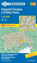mappa Dolomiti