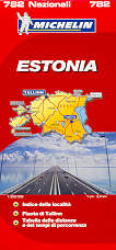 mappa stradale n.782 - Estonia