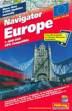 atlante Europa atlante stradale, con mappe di città compatibile sistemi GPS 2014
