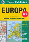 atlante Europa atlante stradale, con mappe di città e informazioni pratiche per viaggiare 2016