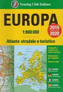 atlante Europa atlante stradale, con mappe di città e informazioni pratiche per viaggiare 2020
